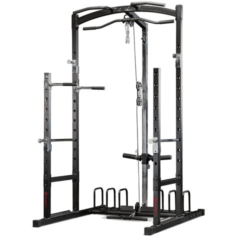 squat rack with cables marcy eclipse rs5000 power cage multi home squat