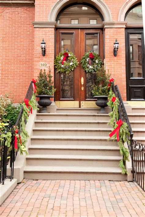 christmas holiday decor traditional porch other