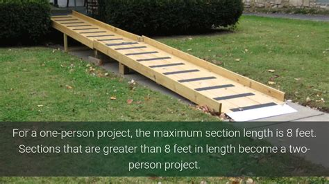 wheelchair ramp kit  hr build simplest diy  internet youtube