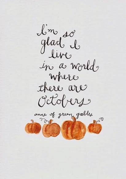 Quotes Fall Sayings October Autumn Quote Octobers