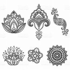 Henna Muster Schablone : henna tattoo flower template mehndi set tattoo flowers hennas and tattoo ~ Frokenaadalensverden.com Haus und Dekorationen