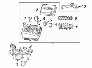 Chevrolet Camaro Fuse And Relay Center Bracket  Engine