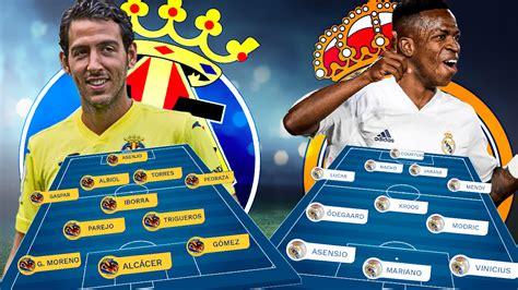 Villarreal - Real Madrid: el Madrid no quiere otro roto en ...