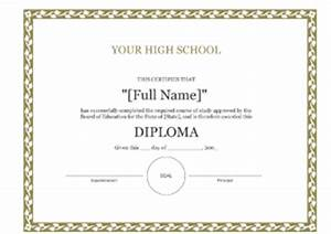 personal forms 8wsorg templates forms With high school diploma certificate fancy design templates