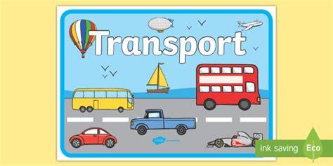 * New * Transport Display Poster