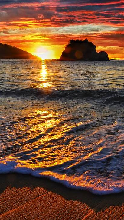 Sunset Beach Wallpapers Iphone Pro Max 3wallpapers