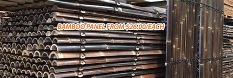 Bamboo Panels, Bamboo Fencing Melbourne   Out Deco Living