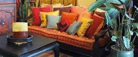 wooden headboard designs indian inspired décor furniture bedding cushions