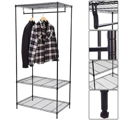 giantex  tier clothing rack modern garment hanger