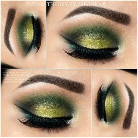 green eyeshadow ideas   pinterest mermaid