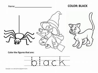 Worksheets Preschool Colors Coloring Learning Pages Kindergarten