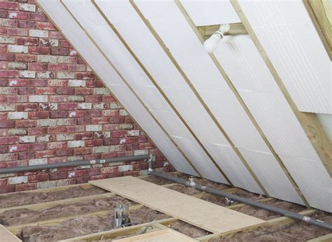 insulate ceiling  roof home logic