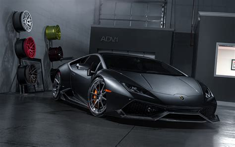 Wallpaper Lamborghini Huracan, Adv1 Wheels, 4k, 8k