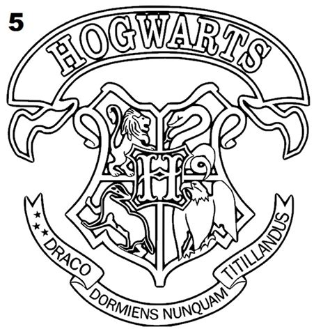 harry potter coloring pages  adults