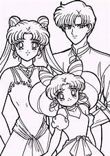 Sailor Moon Coloring Pages Sheets Sailormoon Usagi Mamoru Chibiusa Adult Young Anime Colouring Printable Colorear Coloringpagesfortoddlers Drawing Facil Dibujos Colorings sketch template