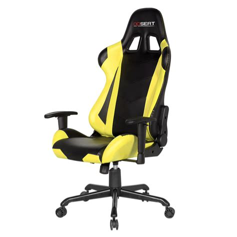 yellow pc gaming chair opseat master series