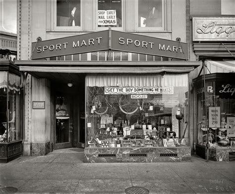 washington dc circa  sport mart   street