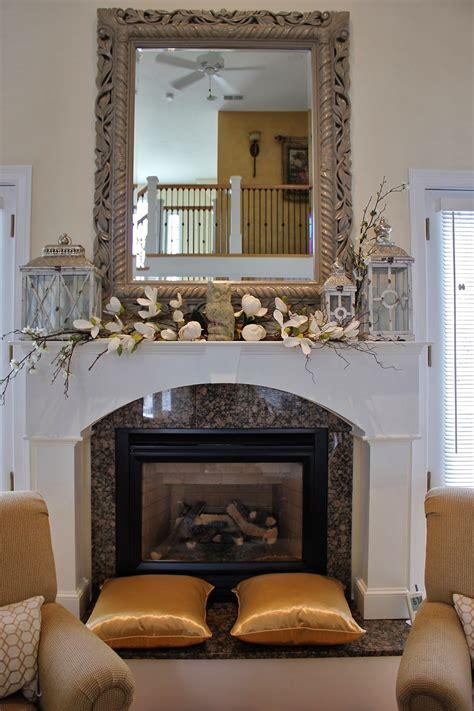 Maison Decor Styling  Mantle  Lanterns  Florals