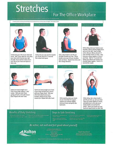 This builds on the previous exercise, opening the hips and getting rid of tightness and. Health in a Minute. Your Health, Your Team.: October is Healthy Workplace Month