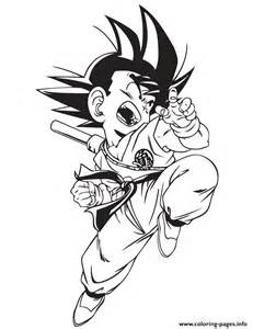 Dragon Ball GT Goku Coloring Pages