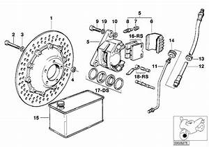 1980 Bmw R Brake Disk  Rotor  Double  Disc