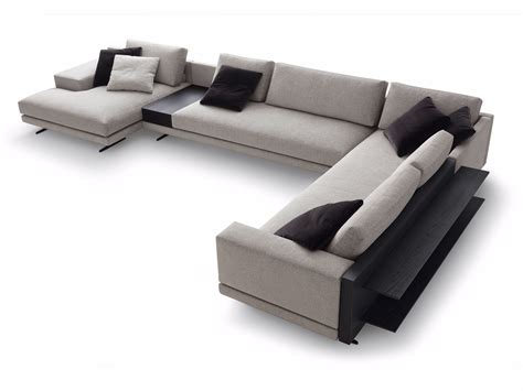 canapé chaise longue mondrian corner sofa mondrian collection by poliform