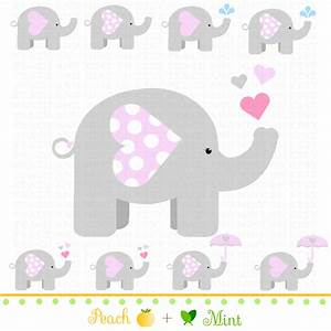 free printable elephants for corsage in baby shower ...