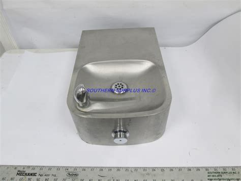 Haws H1109.8 Remote Water Fountain 18 Gauge Stainless