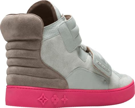 louis vuitton  kanye west grey pink jaspers sneakers incorporated style