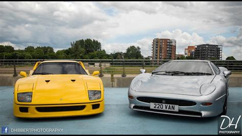 Yellow F40 by Ride Yellow F40 Xj220 Sound Leaving Gumball