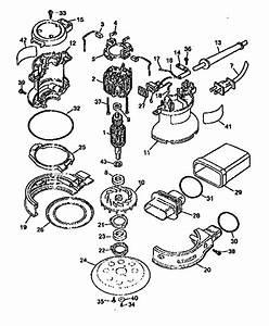Dewalt Model Dw421 Sander Genuine Parts