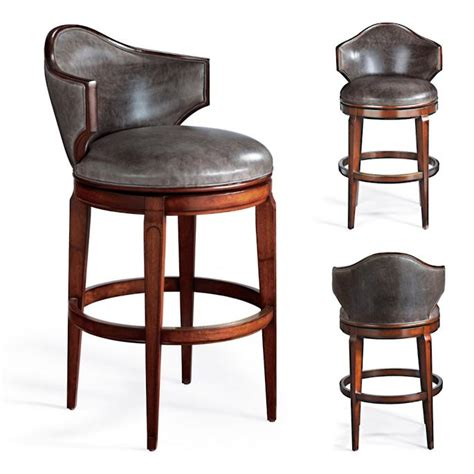 low back swivel counter stools nicholson low back swivel bar stool frontgate 9065