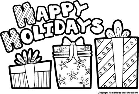 76 Free Happy Holidays Clip Art