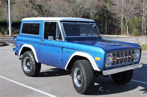 amazing     ford bronco   sale hasil