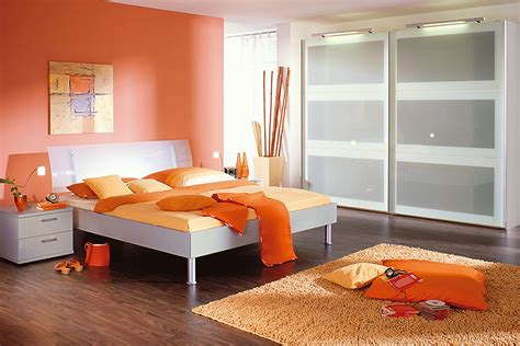 chambre orange et blanche photo 7 20 ambiance tonique