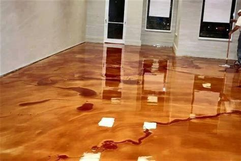 epoxy flooring how to install how to install metallic epoxy floors how to instructions