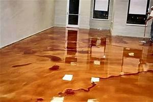 How to install metallic epoxy floors how to instructions for How to install epoxy garage floor