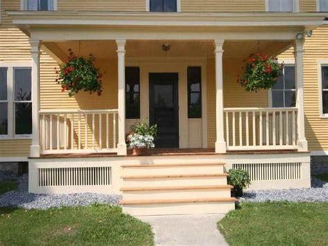 pretty farmhouse front porch steps design ideas homyfeed