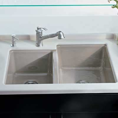 kitchen sink backing up into other sink best sink buying guide consumer reports 9826