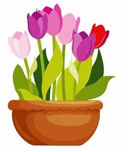 Pot De Fleur Transparent : flower in a pot clipart clipartxtras ~ Teatrodelosmanantiales.com Idées de Décoration