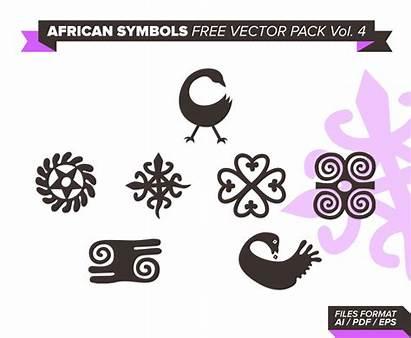 Vector African Symbols Vol Pack Freevector Graphics