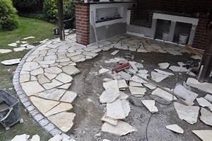 Pflastersteine Verfugen Mit Fugenmörtel : die m mmis bauen einen neuen grillsportplatz mit monolith ~ Michelbontemps.com Haus und Dekorationen