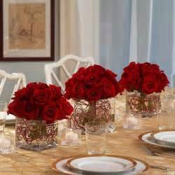Red Rose Wedding Centerpiece Ideas