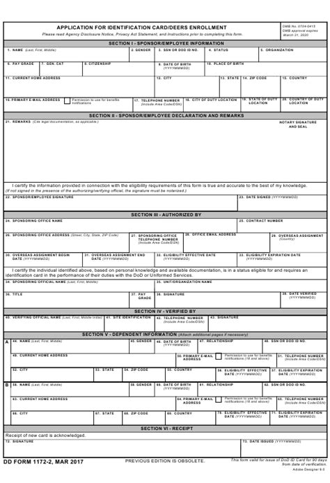 dd form    fillable  application