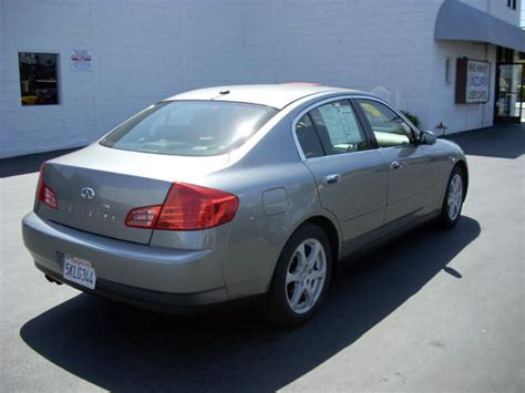 Mike Harvey Acura by 2004 Infiniti G35 Sedan Grey Blk 45k Auto Only 18 888 00