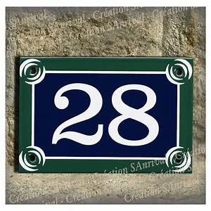Plaque Numero De Rue : num ro de rue 15x10cm style plaque de paris ~ Melissatoandfro.com Idées de Décoration
