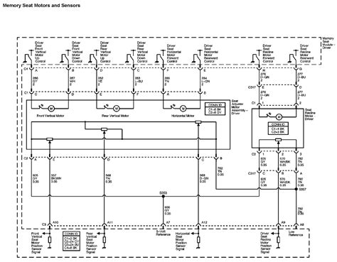 need wire diagram for power seat for chevy uplander 2006