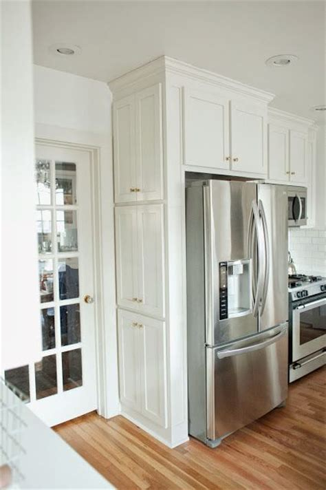 Cabinets Around Fridge by Big Ideas For Small Kitchen Spaces