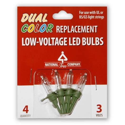 christmas light spheres home depot national tree company replacement dual color led bulbs rb