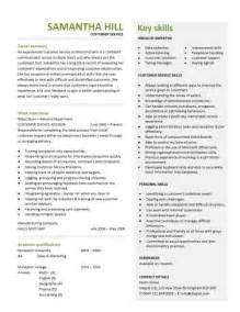customer service skills resume exles customer service resume templates skills customer